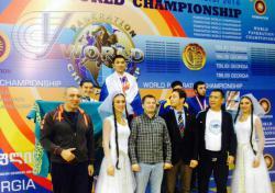 Победа Бадмацырена Доржиева на Чемпионате Мира по панкратиону