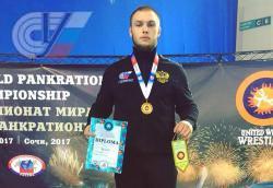 Билостенный Сергей во второй раз стал чемпионом мира по панкратиону
