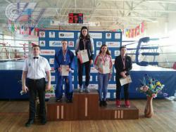 Анна Мазнева- победитель первенства России по универсальному бою