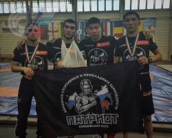 На чемпионате Европы по панкратиону Бадмацырен Доржиев занял первое место